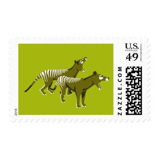 Thylacine Postage Stamps