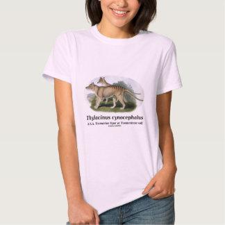 Thylacinus cynocephalus (Tasmanian tiger or wolf) Shirt