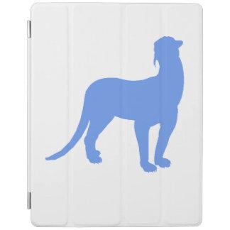 Thylacosmilus Silhouette (Blue) iPad Cover