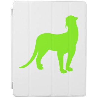Thylacosmilus Silhouette (Green) iPad Cover