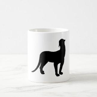 Thylacosmilus Silhouette Coffee Mug