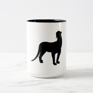 Thylacosmilus Silhouette Coffee Mugs