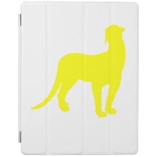 Thylacosmilus Silhouette (Yellow) iPad Cover