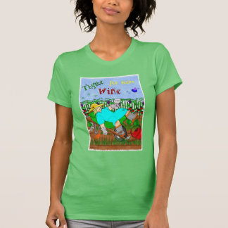Thyme for More Wine T-Shirt