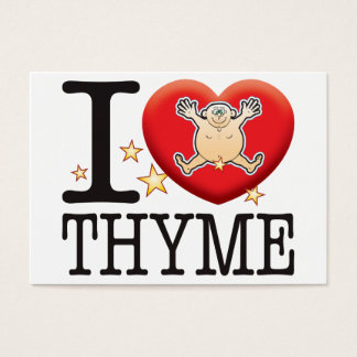 Thyme Love Man Business Card
