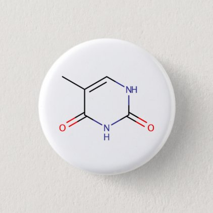 Thymine Molecule Button
