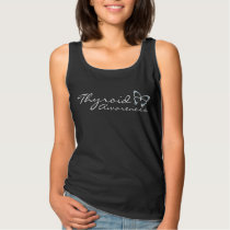 Thyroid Awareness Black Tank Top