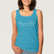 Thyroid Awareness Caribbean Blue Tank Top