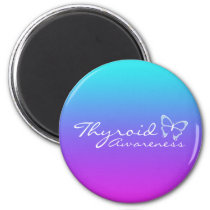 Thyroid Awareness Magnet