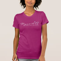 Thyroid Awareness Raspberry T-Shirt