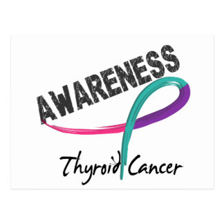 Thyroid Cancer Awareness 3 Postcard