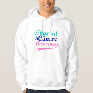Thyroid Cancer Awareness Hooded Pullover
