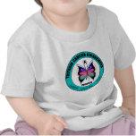 Thyroid Cancer Awareness Month Circular Butterfly T Shirt