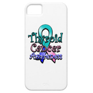 Thyroid Cancer Awareness Ribbon iPhone SE/5/5s Case