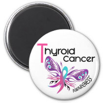 Thyroid Cancer BUTTERFLY 3.1 Magnet