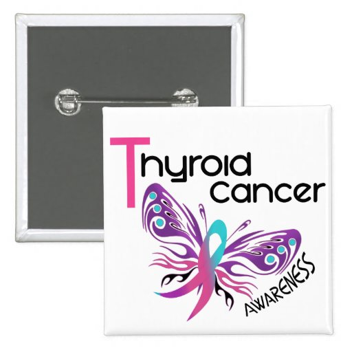 Thyroid Cancer BUTTERFLY 3.1 Pin