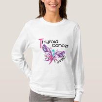 Thyroid Cancer BUTTERFLY 3.1 T-Shirt