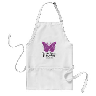 Thyroid Cancer Butterfly Adult Apron