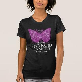 Thyroid Cancer Butterfly T-Shirt