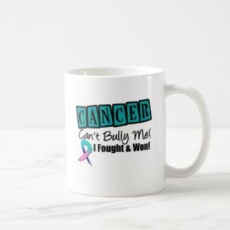 Thyroid Cancer Can't Bully Me...I Fought I Won Classic White Coffee Mug