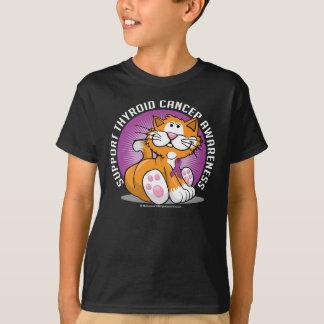 Thyroid Cancer Cat T-Shirt