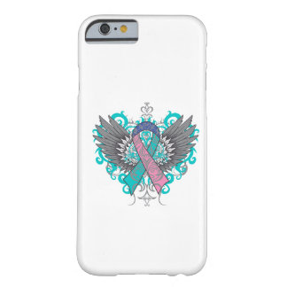 Thyroid Cancer Cool Wings Barely There iPhone 6 Case