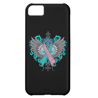 Thyroid Cancer Cool Wings iPhone 5C Case