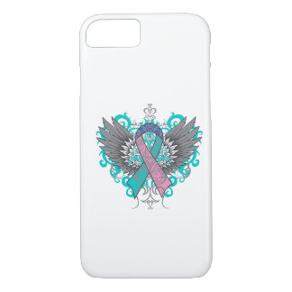 Thyroid Cancer Cool Wings iPhone 7 Case