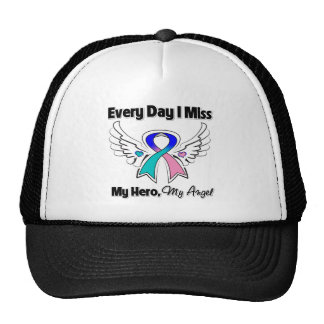 Thyroid Cancer Every Day I Miss My Hero Trucker Hat