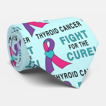 Thyroid Cancer: Fight for the Cure! Neck Tie