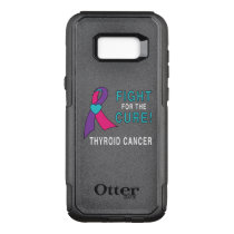 Thyroid Cancer: Fight for the Cure! OtterBox Commuter Samsung Galaxy S8  Case