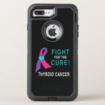 Thyroid Cancer: Fight for the Cure! OtterBox Defender iPhone 8 Plus/7 Plus Case