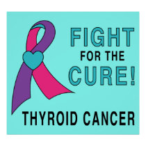 Thyroid Cancer: Fight for the Cure! Poster