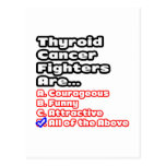 Thyroid Cancer Fighter Quiz Post Card