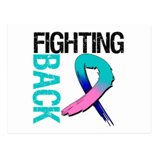 Thyroid Cancer Fighting Back Postcard