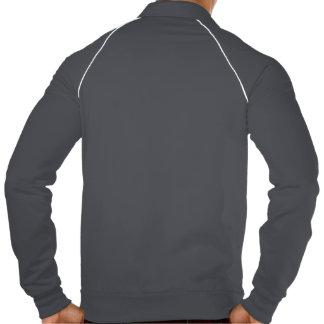 Thyroid Cancer Find A Cure Ribbon American Apparel Fleece Track Jacket