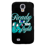 Thyroid Cancer Gloves Ready For The Fight Samsung Galaxy S4 Case