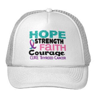 Thyroid Cancer HOPE 3 Trucker Hat