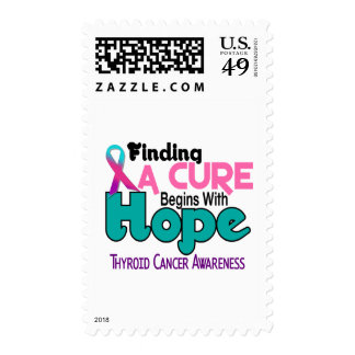 Thyroid Cancer HOPE 5 Stamps