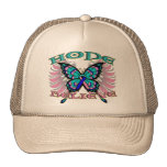Thyroid Cancer Hope Believe Butterfly Hats