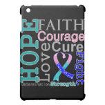 Thyroid Cancer Hope Faith Motto iPad Mini Cover