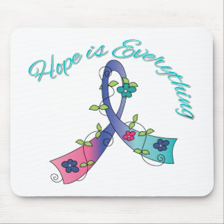 Thyroid Cancer Hope is Everything Mouse Pads