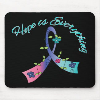 Thyroid Cancer Hope is Everything Mouse Pad