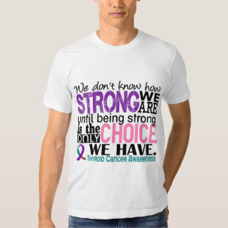 Thyroid Cancer How Strong We Are Dresses