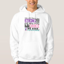 Thyroid Cancer How Strong We Are Hoodie