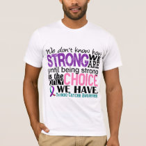 Thyroid Cancer How Strong We Are T-Shirt