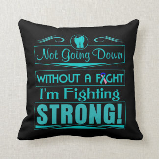Thyroid Cancer I Am Fighting Strong Pillow