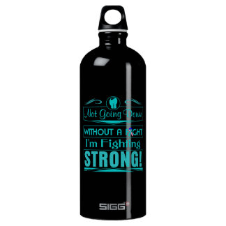 Thyroid Cancer I Am Fighting Strong SIGG Traveler 1.0L Water Bottle