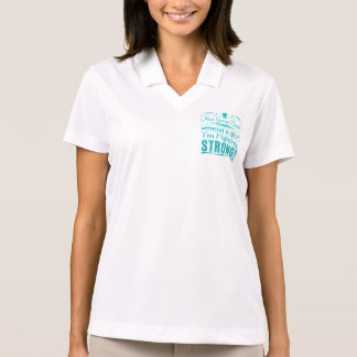 Thyroid Cancer I Am Fighting Strong Polo T-shirts