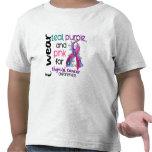 Thyroid Cancer I Wear Ribbon For Awareness 43 T Shirt